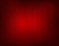 Fondo rosso di codice binario Fotografia Stock
