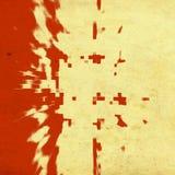 Fondo rosso di lerciume Fotografia Stock
