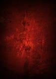 Fondo rosso di lerciume Fotografie Stock