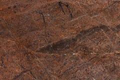 Fondo rosso di struttura del granito, fine su della pietra preziosa Fotografia Stock Libera da Diritti