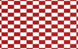 Fondo rosso di struttura della scacchiera illustrazione vettoriale