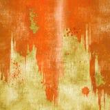 Fondo rosso di struttura della sgocciolatura di lerciume Immagini Stock Libere da Diritti
