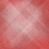Fondo rosso e bianco astratto con progettazione del triangolo e del diamante Fotografie Stock