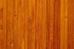 Fondo rosso ed arancio di bambù Fotografia Stock Libera da Diritti