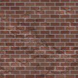 Fondo rosso indossato Grungy di struttura del muro di mattoni immagine stock