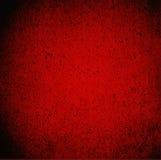 Fondo rosso sangue di lerciume della parete Fotografia Stock