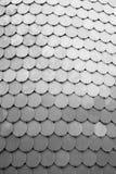 Fondo rotondo spazzolato dell'estratto di struttura di matrice dell'acciaio inossidabile Immagini Stock Libere da Diritti