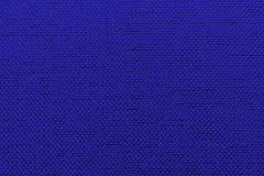 Fondo rugoso del azul de la materia textil Foto de archivo libre de regalías