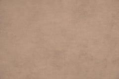 Fondo rugoso del papel del begie Foto de archivo libre de regalías