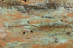 Fondo rustico con la pittura della sbucciatura Fotografia Stock
