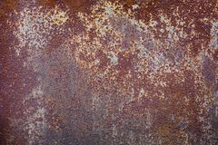 Fondo rustico di struttura del ferro del metallo di vecchio lerciume Immagine Stock Libera da Diritti