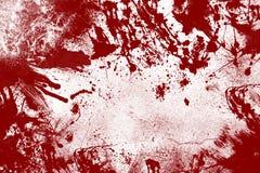 Fondo sanguinoso della parete Fotografie Stock Libere da Diritti
