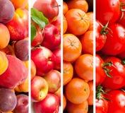 Fondo sano dell'alimento Fotografia Stock