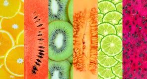 Fondo sano dell'alimento Fotografie Stock Libere da Diritti