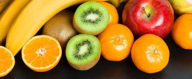 Fondo sano della frutta fresca Fotografie Stock