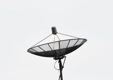Fondo satellite e bianco immagine stock libera da diritti