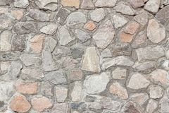 Fondo scheggiato della parete di pietra fotografie stock libere da diritti