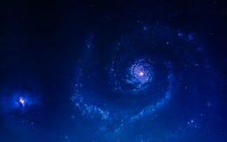 Fondo scientifico astratto - pianeti in spazio, nebulosa e stelle Elementi di questa immagine ammobiliati dalla NASA della NASA g Fotografie Stock Libere da Diritti