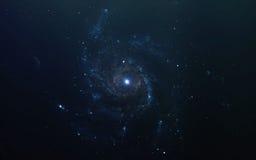 Fondo scientifico astratto - pianeti in spazio, nebulosa e stelle Elementi di questa immagine ammobiliati dalla NASA della NASA g Fotografia Stock Libera da Diritti