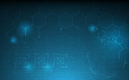 Fondo scientifico molecolare di concetto dell'innovazione di tecnologia di progettazione del modello di sanità astratta illustrazione di stock