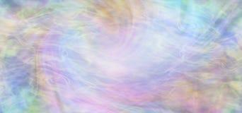 Fondo scorrente multicolore di consapevolezza spirituale Fotografie Stock