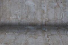 Fondo screpolato del muro di cemento di una costruzione immagini stock libere da diritti