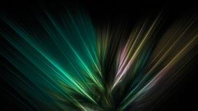 Fondo scuro con le linee colorate diritte Immagine Stock