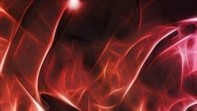 Fondo scuro con luce rossa interna Fotografie Stock Libere da Diritti
