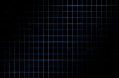 Fondo scuro con una griglia blu Fotografia Stock Libera da Diritti