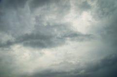 Fondo scuro del cielo Fotografia Stock