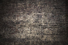Fondo scuro del mattone di lerciume immagine stock libera da diritti