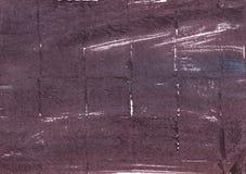 Fondo scuro dell'acquerello dell'estratto di incarnato prugna fotografia stock libera da diritti