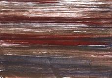 Fondo scuro dell'acquerello dell'estratto di incarnato prugna fotografia stock