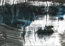 Fondo scuro dell'acquerello dell'estratto di verde della giungla fotografia stock