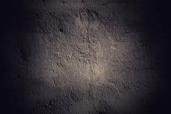 Fondo scuro della parete di lerciume Immagini Stock