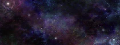 Fondo scuro dello spazio profondo del cielo notturno Fotografia Stock