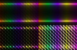 Fondo scuro di spettro astratto stabilito colorato Immagine Stock Libera da Diritti