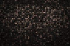 Fondo scuro di struttura di mosaico di tono Immagini Stock Libere da Diritti