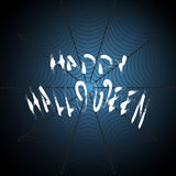 Fondo scuro di vettore di Halloween illustrazione vettoriale