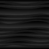 Fondo scuro senza cuciture delle onde astratte Immagine Stock