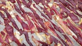 Fondo seco de la carne roja fotos de archivo