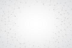 Fondo semplice luminoso astratto di vettore di tecnologia Fotografie Stock