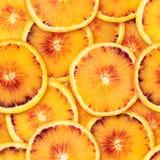 Fondo senza cuciture arancio affettato Immagini Stock