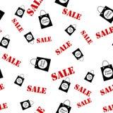 Fondo senza cuciture astratto della disposizione di vendita di venerdì del nero del modello Per progettazione del modello di arte royalty illustrazione gratis