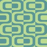 Fondo senza cuciture astratto di contrasto con differenti forme geometriche Ornamento minimalistic di vettore per tessuto, fondo  illustrazione di stock