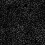 Fondo senza cuciture astratto di pietra scuro Fotografie Stock