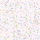 Fondo senza cuciture blu con le stelle di colore Immagini Stock
