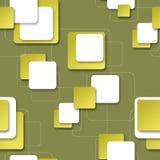 Fondo senza cuciture con i blocchi quadrati per progettazione Immagine Stock Libera da Diritti