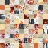 Fondo senza cuciture con i modelli del granito e del marmo Fotografie Stock