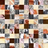 Fondo senza cuciture con i modelli della pietra e del marmo Fotografia Stock